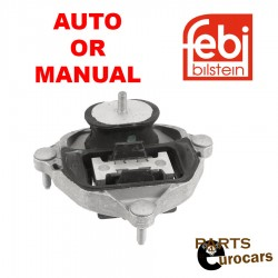 FEBI Auto or Manual Transmission Mount Fits Audi A4 A4 Quattro A5 A5 Quattro