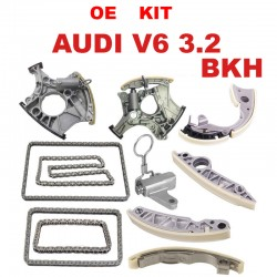 OEM TIMING CHAIN KIT WITH CHAIN TERNSIONERS FOR Audi V6