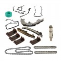 17pcs kit Timing Chain kit set Gaskets set kit Chain Guides and Rails Set BMW