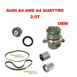 TIMING BELT COMPONENTS KIT AUDI A4 A4 QUATTRO