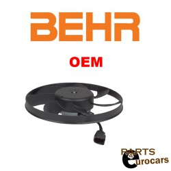 OEM BEHR Engine Cooling Fan Motor Right Side 295mm 200W For Audi VW