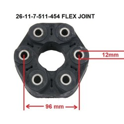 Driveshaft Shaft Flex Disc Joint Fits BMW E36 E3 DRIVESHAFT FLEX JOINT