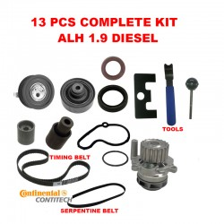 1.9 ALH TDI DIESEL VW GOLF JETTA BEETLE TIMING BELT KIT W WATER PUMP 99-03 13pc