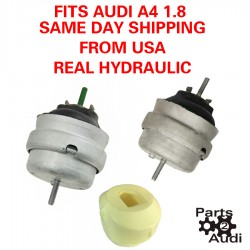 HYDRAULIC ENGINE MOTOR MOUNTS WITH TORQUE BUSHING SET FOR AUDI A4 LT AND RT