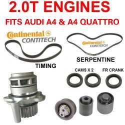 Audi A3 A4 TT Volkswagen EOS Jetta Passat  Timing Belt kit  water pump