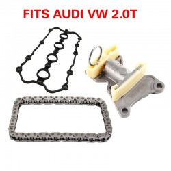 TIMING CHAIN TENSIONER CAMSHAFT CHAIN VALVE COVER GASKET KIT 3PCS FOR VW AUDI