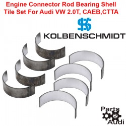 Kolbenschmidt Engine Connector Rod Bearing Shell Tile Set For Audi VW CAEB and CCTA
