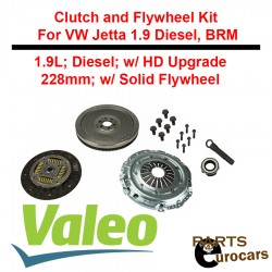 OEM VALEO Clutch and Flywheel Kit For VW Jetta Diesel BRM Engine
