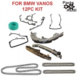 Timing Chain kit set, Gaskets set kit, Chain Guides & Rails Set 17pcs kit BMW