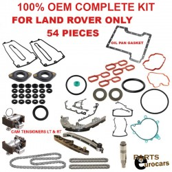 OEM Timing Chain kit set,Gaskets set kit, Chain Guides & Rails Set 46pcs kit BMW