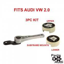 Engine Motor Mount, Subframe Mounts For Audi A3 VW Beetle Golf TDI