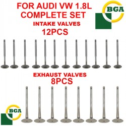 BGA From UK Engine Exhaust Valves Intake Valves Kit 20pcs Fits Audi VW 1.8,2.7