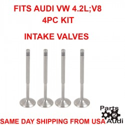 NEW Engine Intake 24pcs & Exhaust 16pcs Valves Complete Kit Set For Audi VW 4.2L