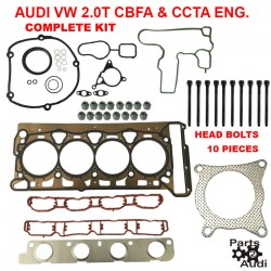 Engine Cylinder Head Gasket Set With Head Bolts For Audi VW TSI Engines