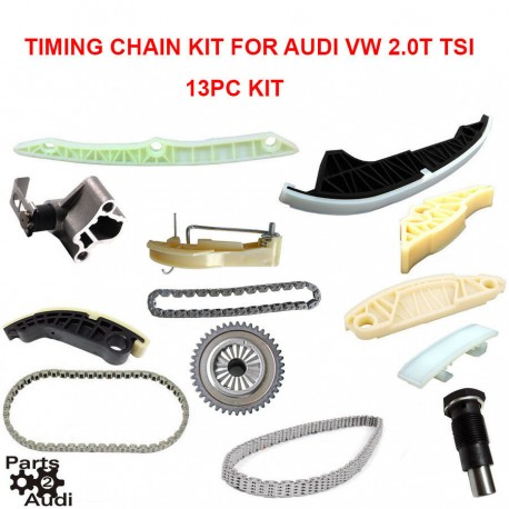TIMING CHAIN KIT TENSIONER RAILS FITS CBFA,CAEB AND CCTA ENG AUDI A3 TT