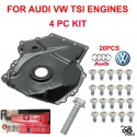 TSI Lower Timing Cover w Bolts, Crank Bolt and Sealer FOR AUDI VW CBFA,CCTA Eng