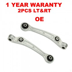 FRONT LOWER CONTROL ARM ARMS KIT 2 PIECES LEFT AND RIGHT FITS AUDI