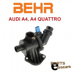 OEM BEHR Coolant Thermostat Housing Cover With Oring and Thermostat Fits Audi A4