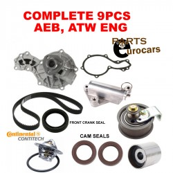 OEM TIMING BELT KIT AUDI PASSAT WATER PUMP KIT FITS AEB ATW TIMING KIT 10 PCS KIT
