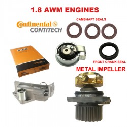 Engine Timing Belt KIT WATER PUMP DAMPER ROLLER AND TIMING BELT AUDI VW
