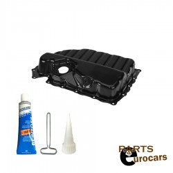 Engine Oil Pan With Oil Pan Gasket Fits Audi Volkswagen CBFA and CCTA