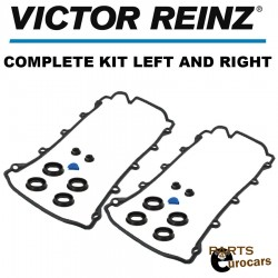 VICTOR REINZ Engine Valve Cover Gasket Set Left and Right Audi VW V8