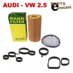 MANN Engine Oil Filter Oil Cooler Seal Oil Filter Flange Gasket Fits Audi VW