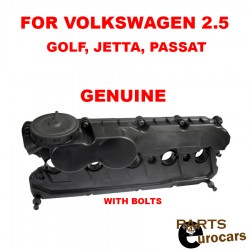OEM CYLINDER HEAD VALVE COVER WITH GASKET AND BOLTS FOR VW GOLF JETTA PASSAT