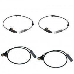WHEEL ABS SPEED SENSOR KIT COMPLETE FRONT REAR LT & RT 4PCS FOR BMW E36