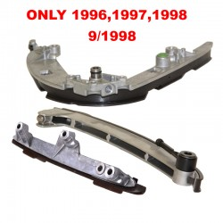 Timing Chain Guide Rail Set 3 pcs Kit FOR BMW E31 E39 E38 some 1996 1997 1998