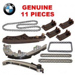 Timing Chain Guide Rail Set 11 PIECES Kit GENUINE 100% FOR BMW E38 E39 E53 ROVER