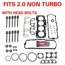 Cylinder Head Gasket Set With Bolts VW Golf Jetta Beetle