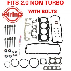 ELRING VW Cylinder Head Gasket Set With Bolts Kit AEG AVH AZG BEV Engine