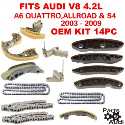 Engine Timing Chain Guides Tensioners For Audi A6 Quattro Allroad Quattro S4