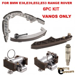 Timing Chain Guide Rail Rails RT LT Chain Tensioner 5 PIECES FOR BMW E38 E39