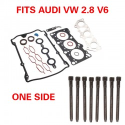 AUDI A4 PASSAT V6 Cylinder Head Gasket Set WITH BOLTS (fits one head)