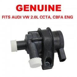 GENUINE Engine Auxiliary Water Pump Fits Audi VW CBFA CCTA