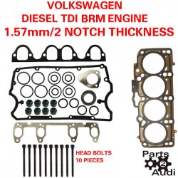 OEM Cylinder Head Gasket Set With Bolts For VW Diesel TDI BEW Engines