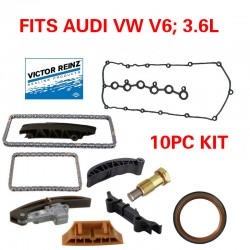 OEM TIMING CHAIN KIT 8PCS FITS AUDI Q7 VW PASSAT TOUAREG