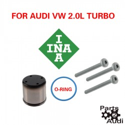 INA Fuel Pump Cam Follower w ORing and Bolts for Fuel Pump Push Rod Audi VW