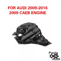 Engine Oil Pan with Provision for Oil Level Sender For Audi CAEB Eng