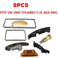 OEM TIMING CHAIN KIT 8PCS FITS VW Touareg V6 BAA Engine