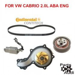Engine Timing Belt Kit For VW Cabrio Golf Jetta ABA Eng.