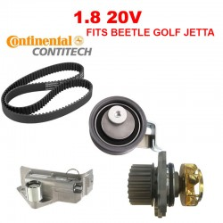 VW BEETLE GOLF JETTA TIMING BELT WATER PUMP KIT VW 20V metal impeller