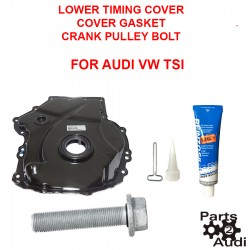 TSI Lower Timing Cover w Crank Bolt and Sealer FOR AUDI VW CBFA,CCTA Eng