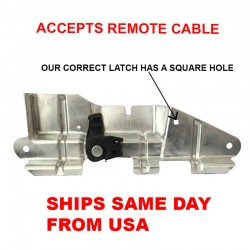 Trunk Latch Bracket Replacement FOR VW Volkswagen Jetta Rear