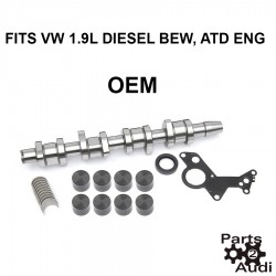 Engine Camshaft Kit w/ Bearings and Lifters and Hardware For Volkswagen Diesel BEW Engine