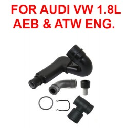 AUDI A4 PASSAT Engine hose Breather tube PCV Hose crankcase vent KIT For Audi AEB