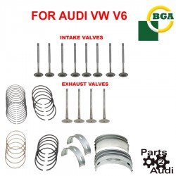 Engine Intake Exhaust Valves Main Bearing Connecting Rod Bearing Set For Audi V6